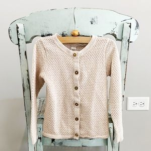 Cherokee sweater with slight shimmer